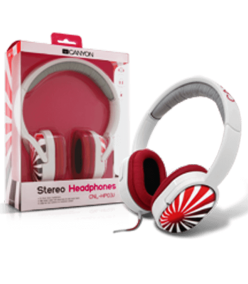 Canyon Stereo Headphones CNL-HP03J