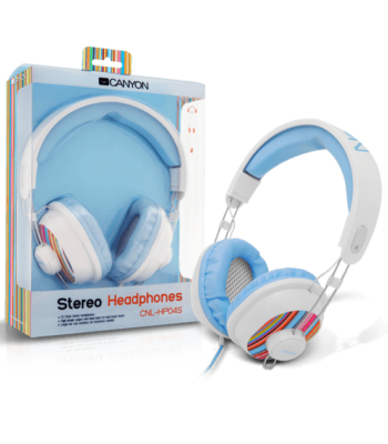 Canyon Stereo Headphones CNL-HP04S