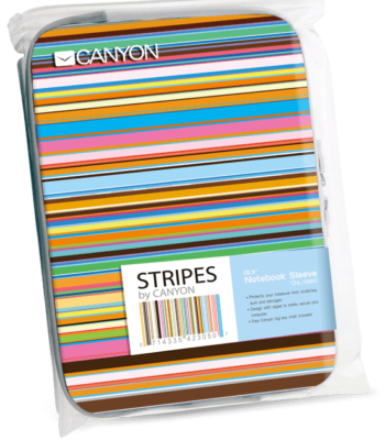 Canyon Stripe 13.3 inch Notebook Sleeve CNL-NB11S